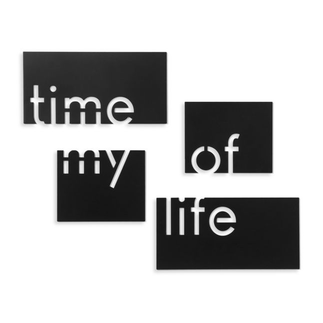 Time of my life wall decor « Home Decorations « Ihanaiset web shop