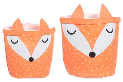 4Living Fox storing basket, set of 2