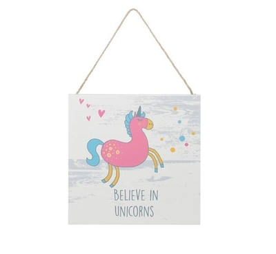 4Living Sign Believe In Unicorns