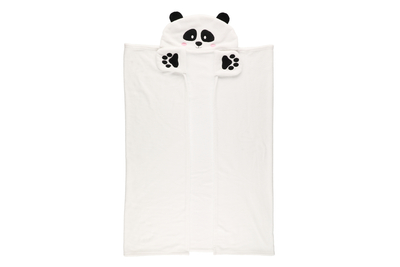 4Living Throw blanket Panda 112x158