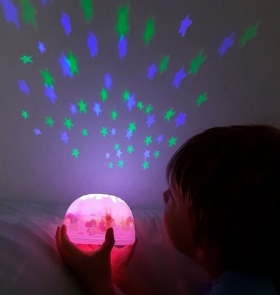 A Little Lovely Company Unicorn projector light