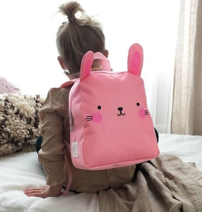 A Little Lovely Company backpack, bunny