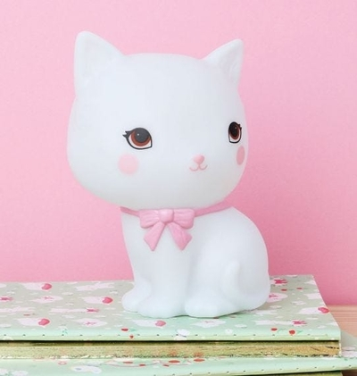 A Little Lovely Company nightlight, adorable cat
