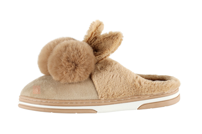 Acces Children's Bunny morning slippers, beige