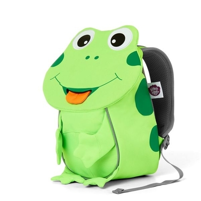 Affenzahn children's small club backpack, green frog