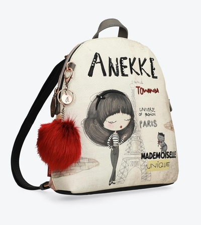 Anekke Couture backpack with a pompom
