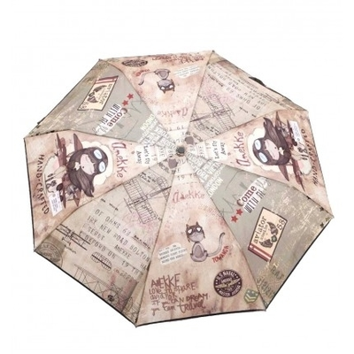 Anekke Fly with me Umbrella, brown