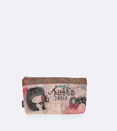 Anekke India makeup bag / clutch bag
