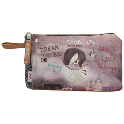 Anekke Nature makeup bag with a wrist strap