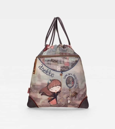Anekke drawstring bag Miss Anekke, blue
