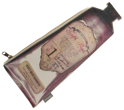 "Apothecary ""Tooth Paste"" makeup bag"