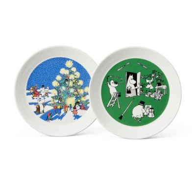 Arabia Collector's plates Christmas & Drawing, part 7/10