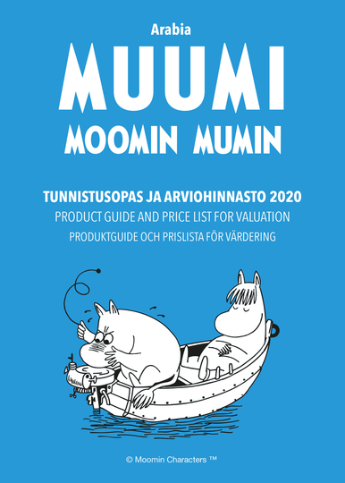 Arabia Moomin – product guide and price list for valuation 2020