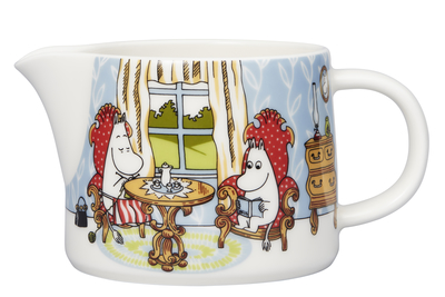Arabia Moomin Afternoon in parlor pitcher 0.35 l