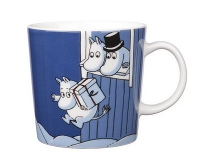 Arabia Moomin Mug Christmas surprise, 2009