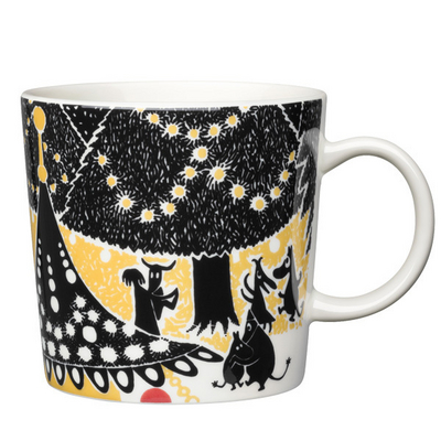 Arabia Moomin Mug Hurray Helsinki World Design Capital, 2012