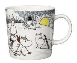 Arabia Moomin Mug Skiing with Mr Brisk, 2014