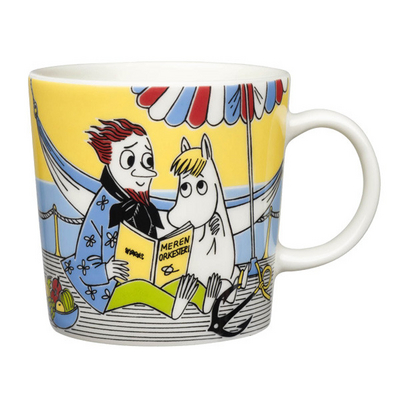 Arabia Moomin Mug Snorkmaiden and The Poet, 2013
