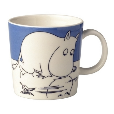 Arabia Moomin Mug Troll on ice, 1999-2012