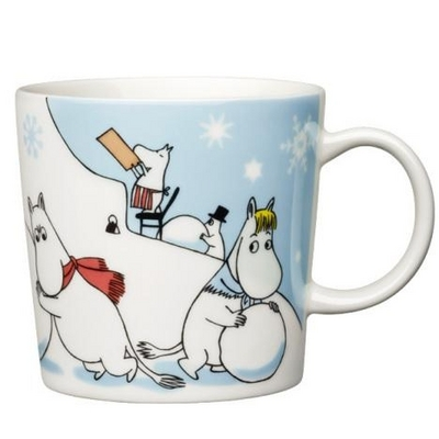 Arabia Moomin Mug Winter Games, 2011 Seasonal Mug