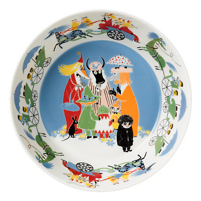 Arabia Moomin Serving Bowl 23cm