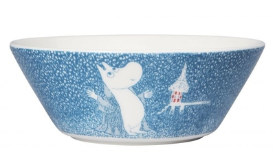 Arabia Moomin bowl Light Snowfall 2018