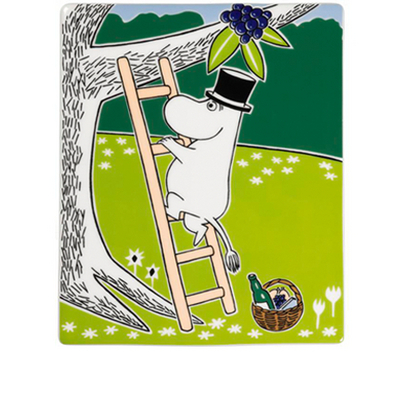 Arabia Moomin ceramics tree Moominpappa 151x189mm