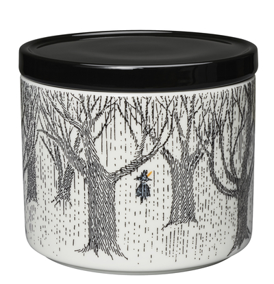 Arabia Moomin jar with a lid, True to its origins, 0,7dl