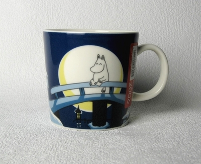 "Arabia Moomin mug 2006 ""Winter Night"""