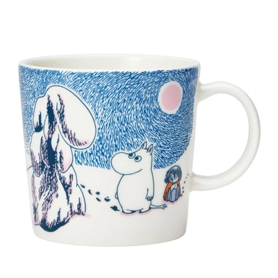 Arabia Moomin mug Crown snow 2019 seasonal mug