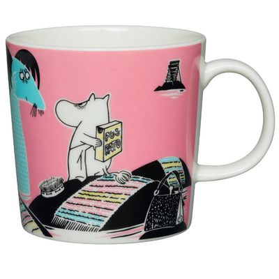 Arabia Moomin mug Håll Sverige Rent - Keep Sweden Tidy, 2015