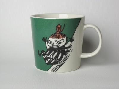 Arabia Moomin mug Little My, green, 1999-2007, 2011