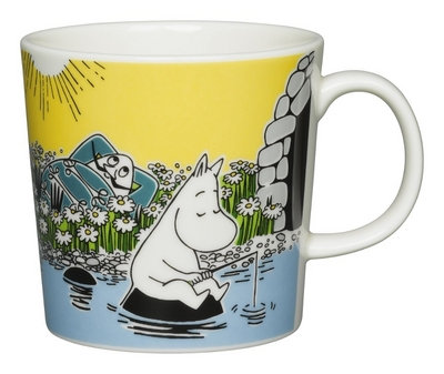 Arabia Moomin mug Moment on the Shore, 2015