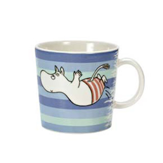 Arabia Moomin mug Swimming jump, 2006