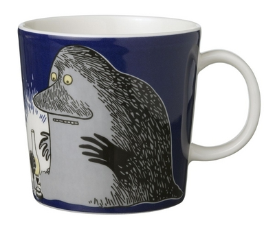 Arabia Moomin mug The Groke