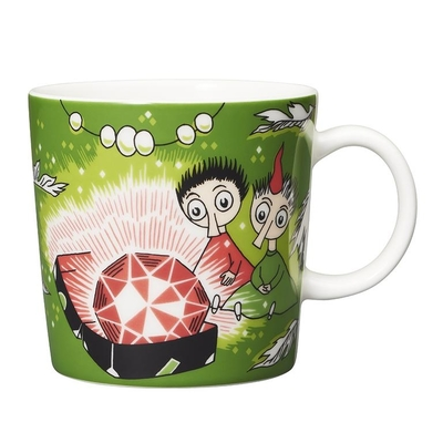 Arabia Moomin mug Thingumy & Bob & King's Ruby