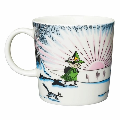 Arabia Moomin mug Winter 2017, Spring Winter, seasonal mug