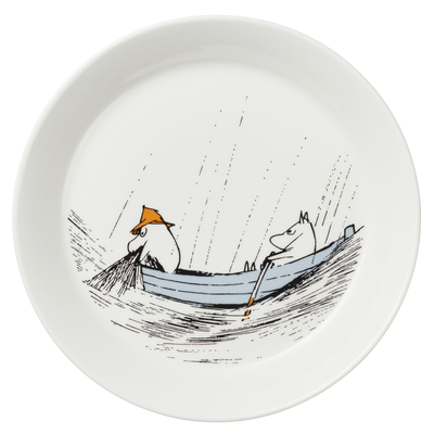 Arabia Moomin plate, True to its origins 19cm