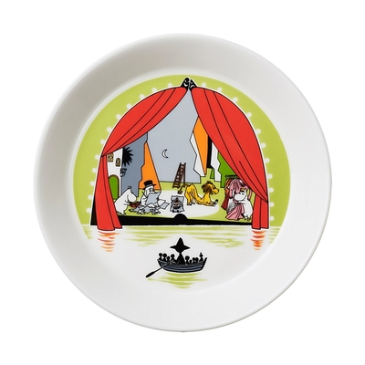 Arabia Moomin plate 2017 Summer theater