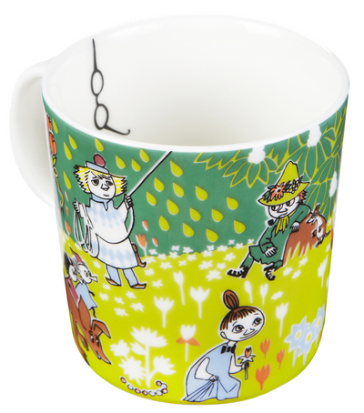Arabia Tove's Jubilee Moomin mug - with glasses!