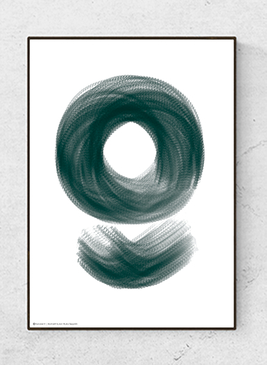 Art poster Abstract Design, Colorful, starting at. 9,90