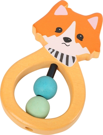 Babies' grasping toy, fox