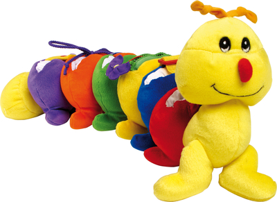 Baby's activity/ soft toy, inchworm