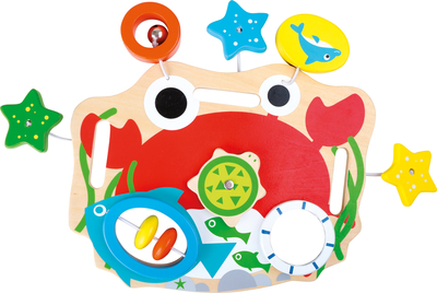 Baby's activity toy / board, colourful