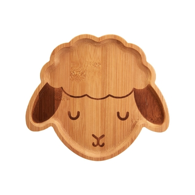 Bamboo plate, Sheep