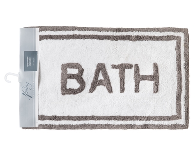 Bathroom rug, Bath, grey 50x80cm