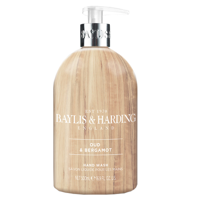 Baylis & Harding Elements - Oud & Bergamot hand soap 500ml