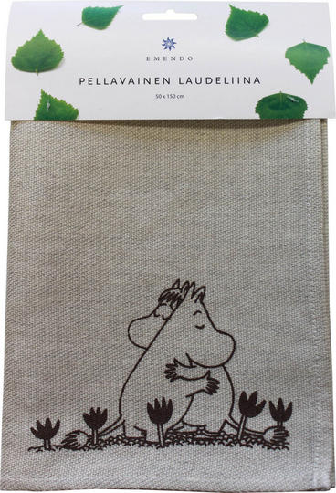 Bench towel Moomin Love, 50 x 150 cm
