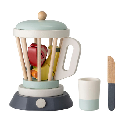 Bloomingville children's wooden blender toy set