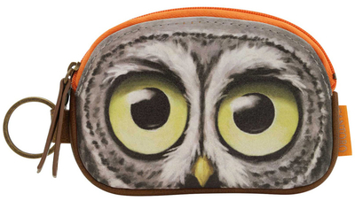 Book Owls keychain purse